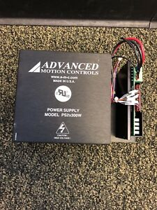 Advanced Motion Controls Ps2x300w Power Supply And Brushless Servo Amplifier