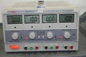 Mastech Hy3005d 3 Dc Power Supply tested