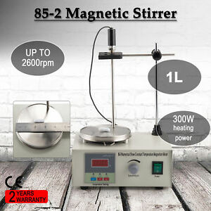 Magnetic Stirrer With 300w Heating Plate Hotplate Mixer Digital Display