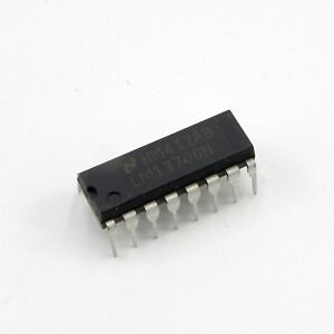 25pcs Lm13700n Dual Operational Transconductance Amplifiers Ic National Dip 16