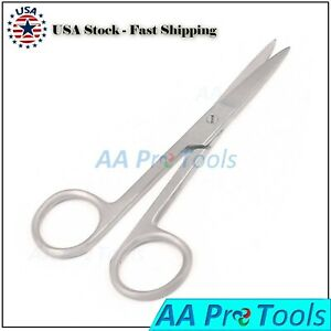 Aa Pro 100 Pcs Spencer Stitch Scissors 4 5 Delicate With Suture Removal Hook