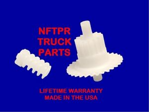 94 98 Ford Mustang Upgraded Cluster Odometer Worm Spindle Gear Lifetime Wnty