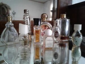 Lot Of 9 Antique Rare Minature Perfume Bottles Absolute Amazing Group Nice