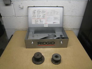 Ridgid 918 Roll Groover Sae Groove Roll 8 To 12 Schedule 10 Pipe Die Set