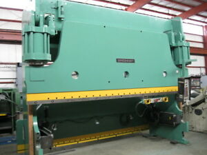 Press Brake 350t Cincinnati 350fm12 Hyd 14 O a 12 6 B h Hurco Ab6 82