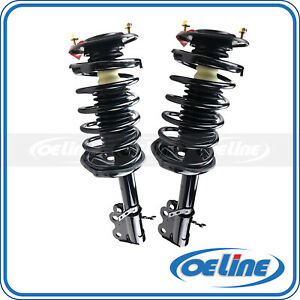 2x Quick Complete Front Struts Assembly Coil Spring Mount For 93 97 Geo Prizm