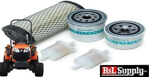 Kubota Oem Bx Filter Maintenance Kit Bx22 Bx2200 Bx23 Bx2660 Bx2670 77700 03363