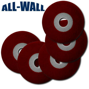 Genuine Porter Cable 7800 Drywall Sander Discs 5 pack 80 Grit W foam Backing