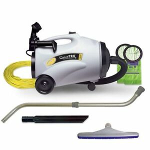Proteam Quietpro Cn Hepa Canister Vacuum With Xover Floor Tool Kit