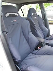 Honda Integra Type R Dc2 Recaro Seats Cover Set 2 Pcs black
