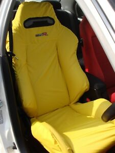 Honda Integra Type R Dc2 Recaro Seats Cover Set 2 Pcs yellow