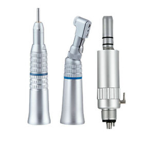 Dental Low Speed Contra Angle Nosecone Handpiece Air Motor Set Nsk Ex203 4 Hole