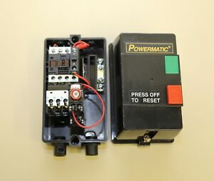 Powermatic Single Spindle Shaper 25a 3 On Off Switch Assembly