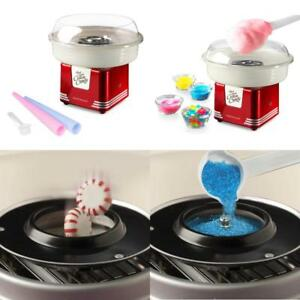 Nostalgia Pcm405retrored Retro Series Hard Sugar free Candy Cotton Candy Maker