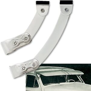 Classic Vintage Fulton Style Exterior Sun Shade Visor Center Support Bracket Set
