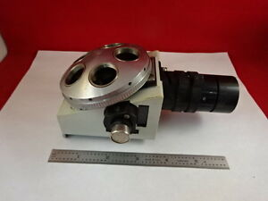 Microscope Part Vickers England Nosepiece Photoplan Illum Optics As Is y5 d 10