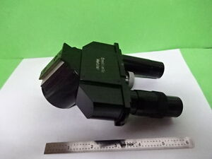 Microscope Part Ortholux Ernst Leitz Germany Head tight Tube As Is af e 53