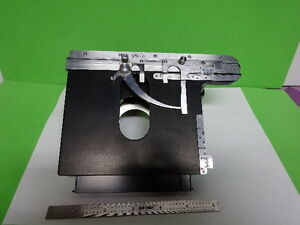 Microscope Ortholux Ernst Leitz Germany Stage Table Micrometer As Is af e 54