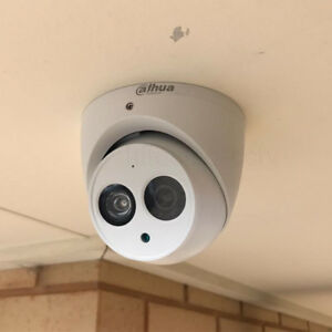 Dahua Ipc hdw4631c a 6mp Poe Built in Mic Ip67 Ir Turret Security Camera 3 6mm