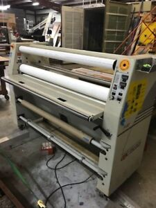 Gbc Pro Tech F60 Wide Format Laminator and Gfp 60 Laminator Lightly Used
