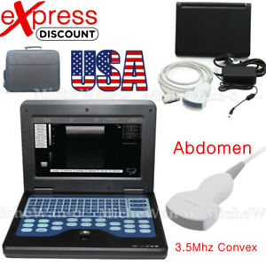 2018 New Ultrasound Scanner Portable Digital Laptop Machine 3 5m Convex Probe us