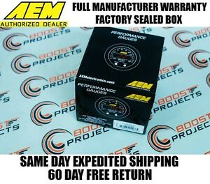 Aem 52mm Wideband Uego Air Fuel Ratio Gauge Controller Afr No Sensor 30 4110ns