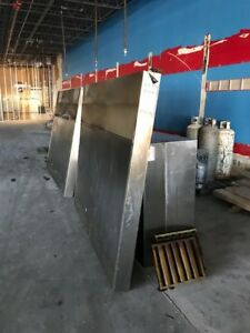Captive air 15 X 5 Hood Ansul System With Everything Included