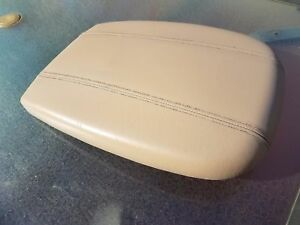 97 02 Ford Expedition Center Console Lid Arm Rest Tan Navigator