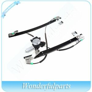 Front Driver Side Window Regulator With Motor Fits 04 07 Chrysler Town