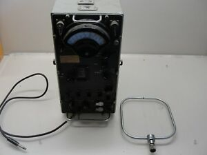 Vintage Weston Electric Inst Corp Model 269 Navy Radio Transmitter
