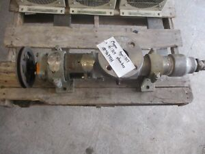 Moyno Stainless Pump 46941h Type sst Model 1l4 ssq Fr 1l4 From vn Used