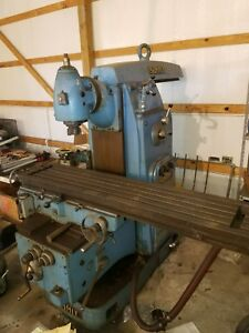 Vertical Milling Machine Used
