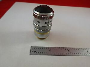 Microscope Part Objective Pst 10x Dark Phase Optics As Is Bin r2 c 15