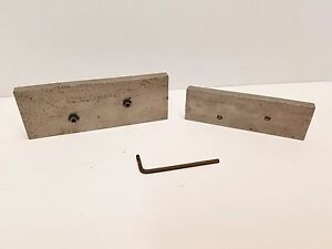 Set Of 2 L S Starrett Adjustable Parallels No 154 D E Free Shipping
