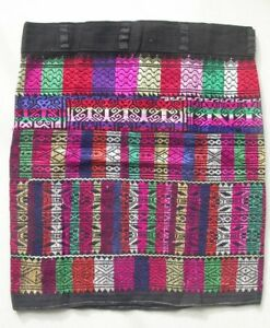 Chinese Minority People Girl S Old Hand Embroidery Skirt
