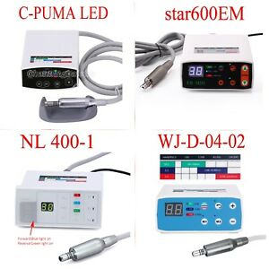 Dental Lab Led Brushless Mini Electric Micro Motor Inner Channel Contra Angle