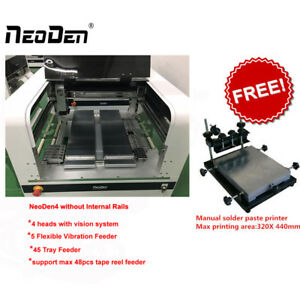Special Offer Smt Pick And Place Machine Neoden4 With 4 Heads free Fee Printer j