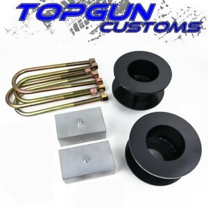 2005 2019 Ford F 350 3 Front 3 Rear Suspension Lift Leveling Steel Kit 4wd