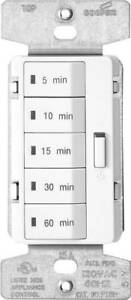 8024002 wall Switch Timers indoor Digital single pole accell 5 10 15 3