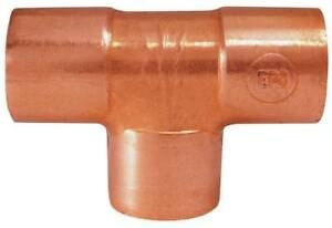 9841701 copper Fittings tee c X C X C Wrot Nom Size In 2