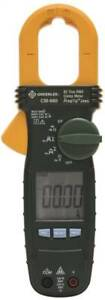 Greenlee Textron Cm660 Ac Clamp Meter