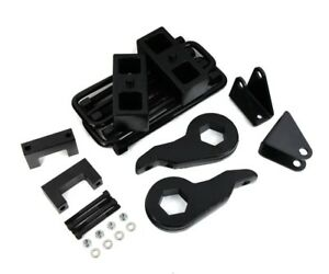1988 1999 Chevy K2500 4wd 3 Front 1 5 Rear Lift Kit W Four Shock Extenders