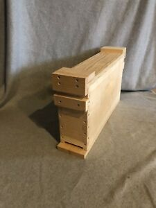 2 Frame Mating Nuc Queen Rearing Bee Supplies With Or Without Jar Feeder Hole