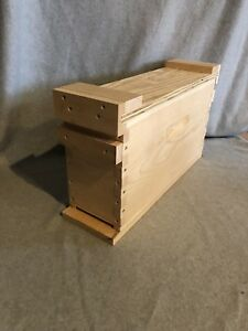 3 Frame Mating Nuc Queen Rearing Bee Supplies With Or Without Jar Feeder Hole