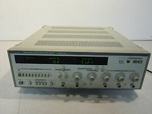 Anritsu Me538l Microwave Transmitter Power Up Opt 04 100vac 2a Good Buy