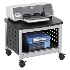 Safco 1855bl Scoot Underdesk Printer Stand Black New
