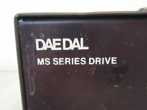 Daedal Ms Series Dual Axis Motor Drive Model Ms2302