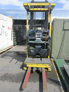 Hyster R30xms2 Stand On Electric Pallet Picker Forklift Reaches To 240