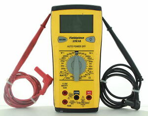 Fieldpiece lt83a Classic Style Digital Multimeter Hvac r used
