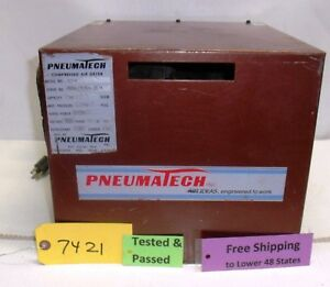 Used Pneumatech Compressed Air Dryer 515 B Works Commercial Free Shipping